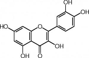 Photo-quercetin structure